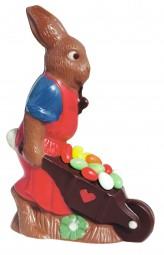 Form für Schokolade: Hase, 19 cm