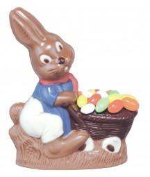 Form für Schokolade: Hase, 14 cm