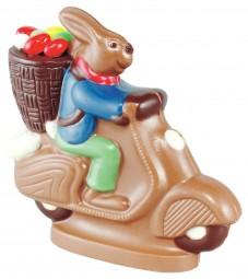Form für Schokolade: Hase, 12 cm
