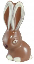Form für Schokolade: Hase, 13 cm