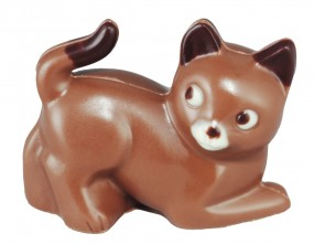 Form für Schokolade: Katze, 2 St. á 6 cm