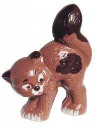 Form für Schokolade: Katze 12 cm