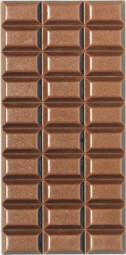 Form für Schokolade: Tafelware, 100 g, Relief