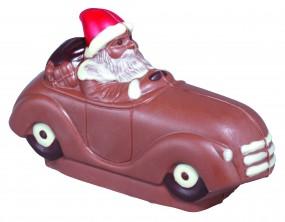 Form für Schokolade: nur 20,00€ + MwSt Weihnachtsmann m.Auto, 10 cm