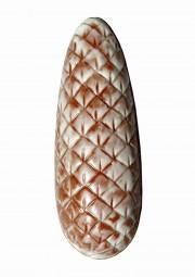 Form für Schokolade: Tannenzapfen z.füllen, 14,5 cm