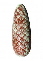 Form für Schokolade: Tannenzapfen z.füllen, 19 cm