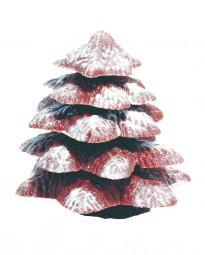 Form für Schokolade: Tanne, 6 tlg., 9 cm
