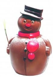 Form für Schokolade: Schneemann, 2 St. á 6,5 cm
