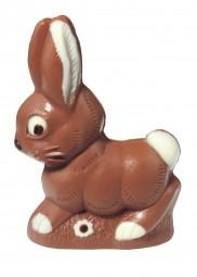 Form für Schokolade: Hase, 11 cm