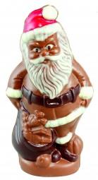 Form für Schokolade: Weihnachtsmann/Sack, 21 cm
