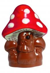 Form für Schokolade: Pilz, 2 St. á 7,5 cm