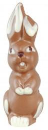 Form für Schokolade: Lachhase, 2 St. á 12 cm