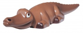 Form für Schokolade: Krokodil, 5,5 cm hoch
