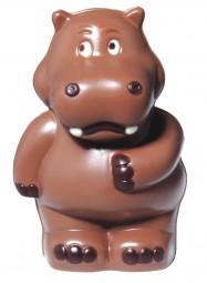 Form für Schokolade: Nilpferd, 12,5 cm