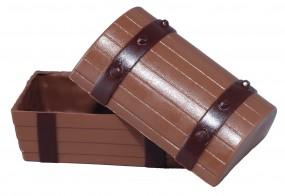 Form für Schokolade: Schatztruhe, klein, 8 x 5,5 x 5 cm
