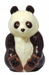 Form für Schokolade: Pandabär, sitzend, 14 cm