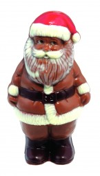 Form für Schokolade: Weihnachtsmann, 3 St. á 9 cm