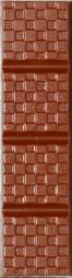 Form für Schokolade: Schokoriegel, Relief, 3 St. á 50 g