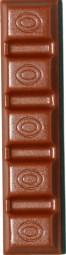 Form für Schokolade: Riegel f.Füllungen, 3 St. á 50 g