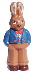 Form für Schokolade: Hase im Frack, 11,5 cm