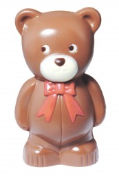Form für Schokolade: Bär mit Fliege, 10,5 cm