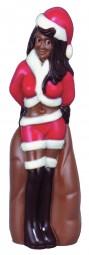 Form für Schokolade: Weihnachtsfrau, Klaudia, 20 cm