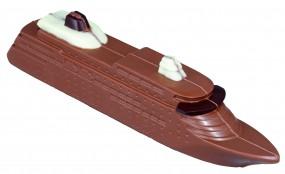 Form für Schokolade:, Kreuzfahrtschiff / 30 x 4 x 7 cm