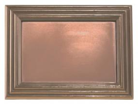 Form für Schokolade:, Bilderrahmen, 19,5 x 14,5 x 1,5 cm ca. 230 g