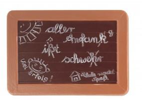 Form für Schokolade: Schultafel
