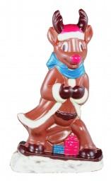 Form für Schokolade: Rentier, 18,5 cm