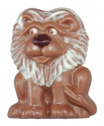 Form für Schokolade: Löwe, Relief, 6 Stück, 7 x 5 cm
