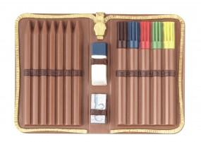 Form für Schokolade: Schul-Etui