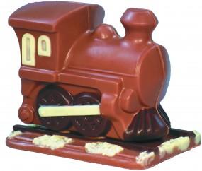Form für Schokolade: Lok m. Schiene,