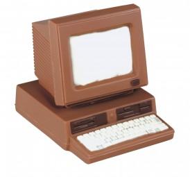 Form für Schokolade: Computer, 11,5 x 9 x 9,5 cm