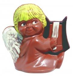 Form für Schokolade: nur 20,00€ + MwSt Engel mit Harfe, ca. 13 cm
