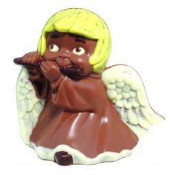 Form für Schokolade: Engel mit Flöte, ca. 13 cm