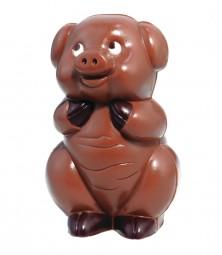 Form für Schokolade:, Schwein, stehend, 13 cm
