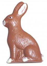 Form für Schokolade: Relief-Hase, 16,5 cm