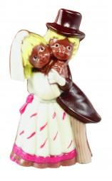 Form für Schokolade: Brautpaar, 11 cm