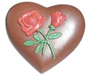 Schokoladenfor, Herz / 2 á 9,5 cm