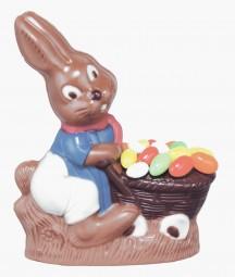 Form für Schokolade: Hase, 18,5 cm