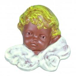 Form für Schokolade:, Engelkopf/Relief, 3 á 100 g