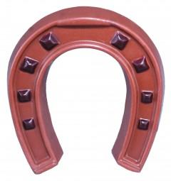 Form für Schokolade: Hufeisen, 10x9x1,5 cm /2 a 50 g