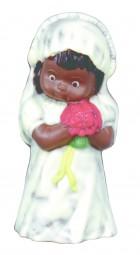 Form für Schokolade: Mädchen, 14 cm
