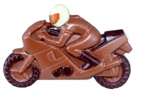 Form für Schokolade:, Motorrad, Relief/12 x 8 cm