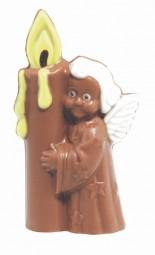 Form für Schokolade, Engel mit Kerze, 17,5 cm
