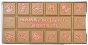 Form für Schokolade, Mama Schokoladentafel, Tafelware, 100 g, Relief