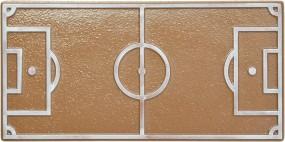 Form für Schokolade, Fußballfeld Schokoladetafel, Tafelware, 100 g