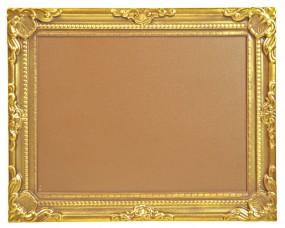 Form für Schokolade: Barock-Rahmen