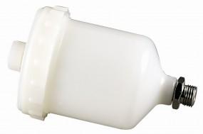 Fließbecher, 125 ml, Kunststoff, mit Sieb, für Spritzpistole 1107